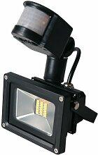 Greenmigo 20W/30W/50W/80W LED SMD Fluter Strahler Squre Wandleuchter Flutlicht Scheinwerfer Außenstrahler Innenbeleuchtung Warmweiß mit Bewegungsmelder (20 Watt)