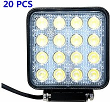 Greenmigo 20X 48W 16 LEDs Offroad Lampe LED