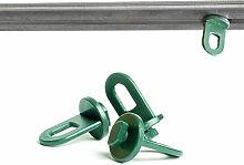 GreenoCeros 50x Extra Stabile Gewächshausclips,