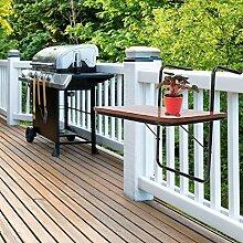 Greensen Hängetisch Balkon Kleine Klapptisch