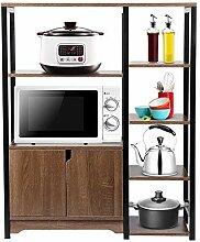 Greensen Küchenschrank mit Mehrschichtiges Regal