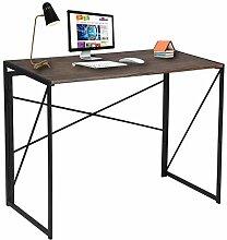 Greensen Schreibtisch Klappbar Computertisch Holz
