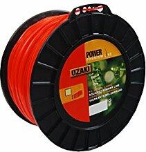 GREENSTAR 3900Schutzhülle Nylonband quadratisch Premium Line Ozaki, schwarz, 513565