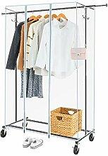 Greenstell Kleiderständer mit PVC-Abdeckung auf
