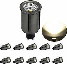 GreenSun LED Lighting 10er LED Lampe GU10