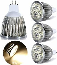 GreenSun LED Lighting 4er MR16 GU5.3 LED Lampe 4W