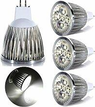 GreenSun LED Lighting 4er MR16 GU5.3 LED Lampe 5W
