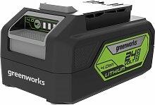 Greenworks 24 V Li-Ion Akku 4,0 Ah,