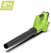 Greenworks 24V Akku-Axial-Laubbläser (ohne Akku