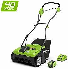 Greenworks 2504807UF Vertikutierer, grün