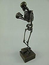 Gremegro Figur Bronze Skelett H.31x10cm