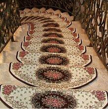 GRENSS 1 Stück Runde rutschfeste Teppich für Wohnzimmer und Schlafzimmer Mode große Matten Soft Solid einfachen Teppichen auf dem Boden 6 Farben V 20,2238,1 Stück