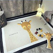 GRENSS 145 x 195 cm 100% Baumwolle Kinder Teppich