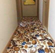 GRENSS 3D-Teppich gedruckt Stein Teppiche Flur