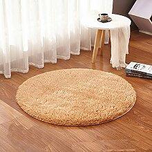 GRENSS Beige runden Teppich Teppiche Yoga warme