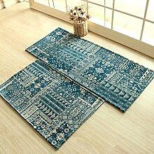 GRENSS Blau Moderne Schlichtheit Küche Mat Home