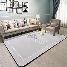 GRENSS Cactus Teppich für Bett Zimmer Moderne