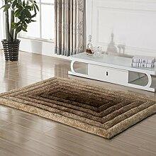 GRENSS Dehnen Garne Teppich für Wohnzimmer