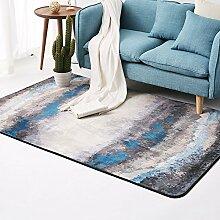 GRENSS Einfache Öl Malerei Teppich dekorativer
