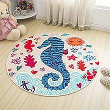 GRENSS Einfachen Stil runder Teppich Kinder