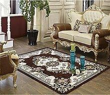 GRENSS Europa Chenille Teppich für Wohnzimmer