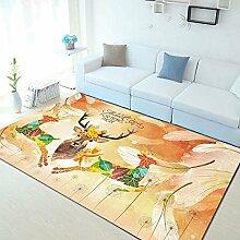 GRENSS Europa Stil Pflanze Blumen Teppich Teppich