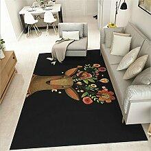 GRENSS großer Teppich kreative Elk einfach für