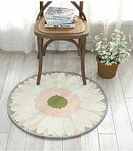 GRENSS Ländlichen Stil Teppich rund Teppich für