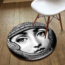 GRENSS Mode Carpet runde Teppich Wohnzimmer