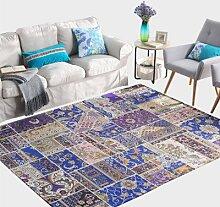 GRENSS Modern Teppich für Wohnzimmer und Roten