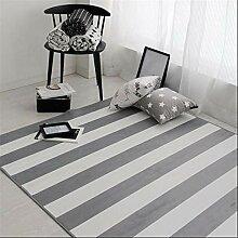 GRENSS Moderne Geometrische gestreiften Teppich