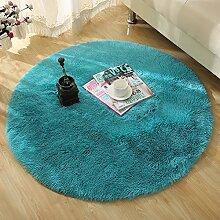 GRENSS Runde Farbe Teppich für Wohnzimmer Grosse