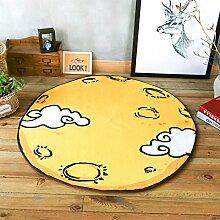 GRENSS Schönes Cartoon Blauer Hase Teppich