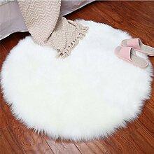 GRENSS Soft Imitation Wolle heikle Wohnzimmer