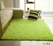 GRENSS Solide Teppich Soft Shaggy Teppiche