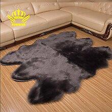 GRENSS Weiche künstliche Schaffell Teppich und