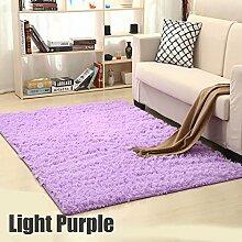 GRENSS Weiche Shaggy Teppich für Wohnzimmer