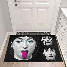 GRENSS Wohnzimmer Flur Zugang Badezimmer Nordic