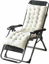 GreSky Chaise Longue Cushion Rocking Chair Cushion