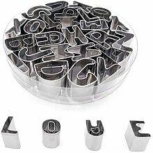 Gresunny 26 Stück ausstecher Buchstaben Alphabet