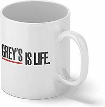 Grey's Is Life Grey's Anatomy Fun Logo Fan