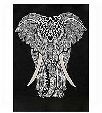 Grey Elephant Tapisserie, Orientalische