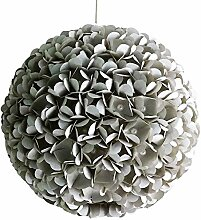 Grey Pearl Flower, graue Lampe Leuchte