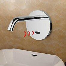 GreyZook Badezimmer Wasserhahn mit Sensor Quick