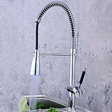 GreyZook Gestreckte LED-Küche Wasserhahn Mixer
