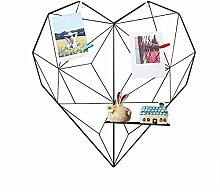 Grid Panel Foto Wanddekoration, Eisen Heart-shaped
