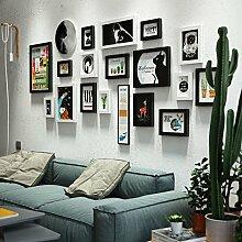Grid photo wall Fotowand Nordic Fotorahmen Collage