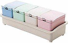 Grid Seasoning Box Set Gewürzsalz Sugar Kitchen