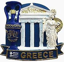 Griechenland 3D Kühlschrank Magnet Reise Souvenir