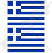 GRIECHENLAND Griechische Flagge Hellas, Griechisch